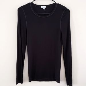 NWT Splendid Black Fitted Stretchy Top